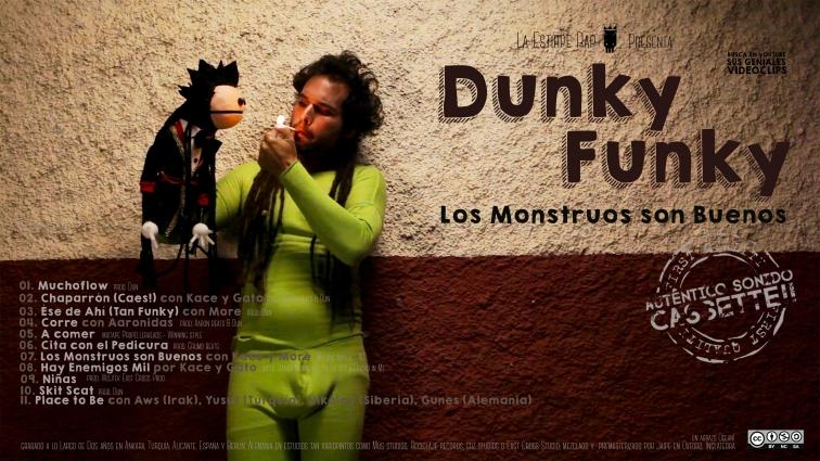 Dunky FUnky Los Monstruos portada 2 alta definicion